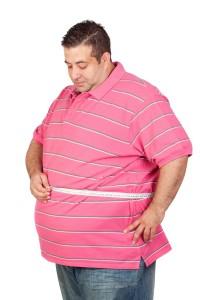 איש בעל עודף משקל
